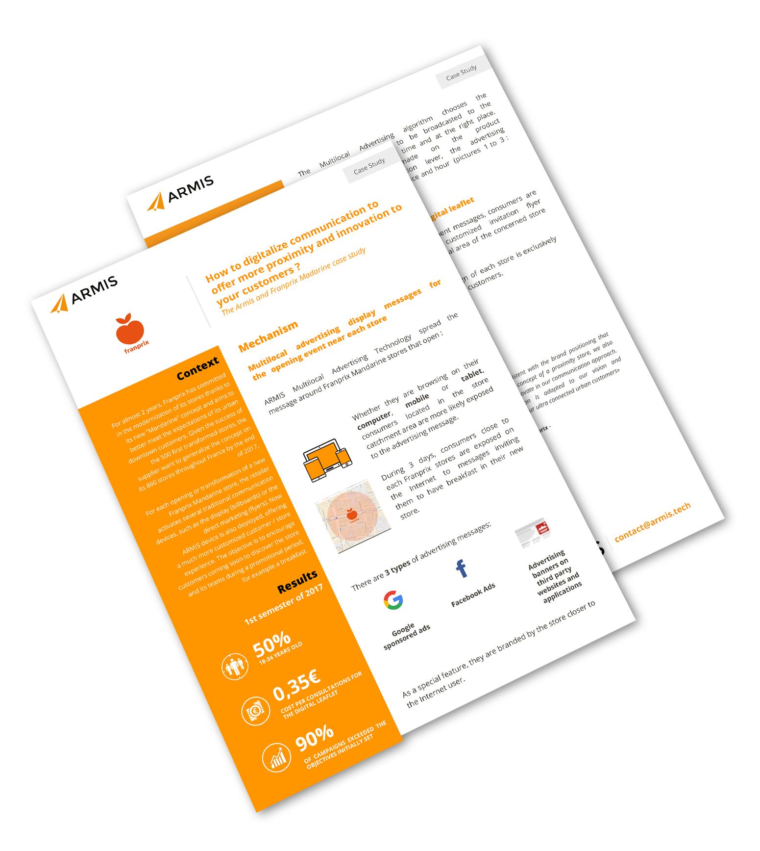 Microsoft s'appuie sur les magasins FNAC DARTY et la publicité mulitlocale d'ARMIS pour promouvoir sa nouvelle gamme de Laptop Surface
